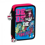 estuche doble completo monster high \