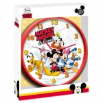reloj de pared mickey mouse & friends